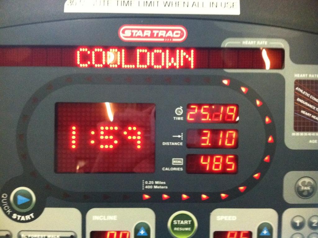 treadmill healthier on street vs the running